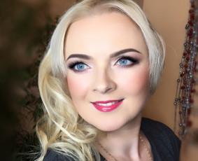 Profesionalus makeup ir sušukavimas