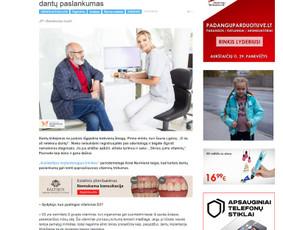 Straipsnis naujienų portalui