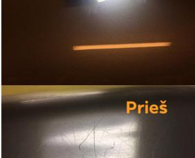 Automobilių poliravimas, žibintų Poliravimas