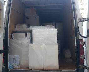 Perkraustymo paslaugos krovinių pervežimas