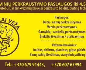 Perkraustymo paslaugos Klaipėdoje / Povilas / Darbų pavyzdys ID 1111053