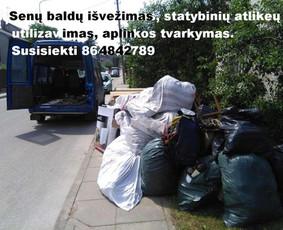 Perkraustymo paslaugos Klaipėdoje / Povilas / Darbų pavyzdys ID 1111055