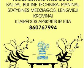 Perkraustymo paslaugos Klaipėdoje / Povilas / Darbų pavyzdys ID 1111059