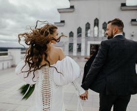 Profesionali meninė vestuvių fotografija
