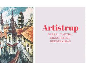 Artistrup - šaržai, tapyba, sienų dekoravimas.