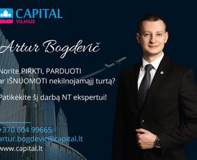 Sertifikuotas nekilnojamojo turto brokeris Vilniuje / Artur Bogdevič / Darbų pavyzdys ID 1118631