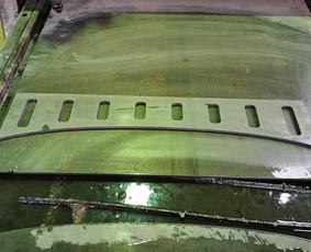 Metalo pjovimas su Cnc plazma