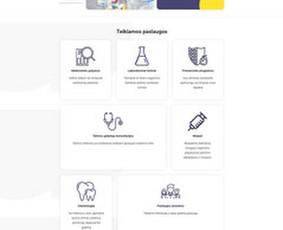 Interneto svetainių, el. parduotuvių kūrimas + Seo / Andrius Labunskas / Darbų pavyzdys ID 1122799