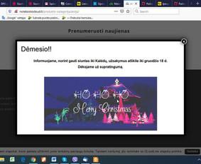 Internetinių svetainių ir el.parduotuvių priežiūra / Rasajana / Darbų pavyzdys ID 1125161