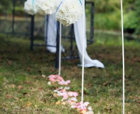 Balta Karūna - vestuvių floristika,dekoravimas,koordinavimas / Balta Karūna / Darbų pavyzdys ID 1131087