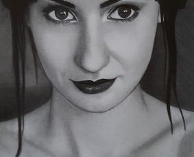 Portretų piešimas iš nuotraukų / Portretu Studija / Darbų pavyzdys ID 1133227