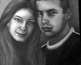 Portretų piešimas iš nuotraukų / Portretu Studija / Darbų pavyzdys ID 1133249