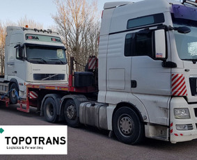 Tarptautinis kroviniu gabenimas, negabaritai, jura