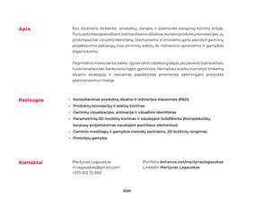 Pramoninis dizainas, 3d modeliavimas, vizualizacijos / Martynas Lagauskas / Darbų pavyzdys ID 1138617