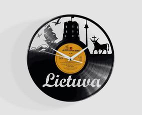 Išskirtiniai laikrodžiai iš vinilinių plokštelių ! / Linedeco / Darbų pavyzdys ID 1140271