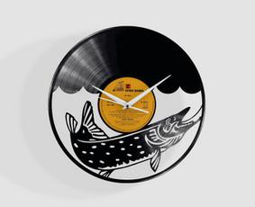 Išskirtiniai laikrodžiai iš vinilinių plokštelių ! / Linedeco / Darbų pavyzdys ID 1140273