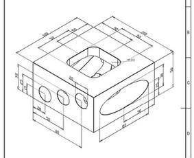 Projektavimas/braižymas Autocad, Solidworks / Edgaras / Darbų pavyzdys ID 1142313