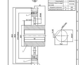 Projektavimas/braižymas Autocad, Solidworks / Edgaras / Darbų pavyzdys ID 1142319