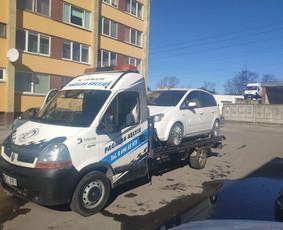 Tralas - autovėžis Vilnius Lietuva ir Europa. Pagalba kelyje
