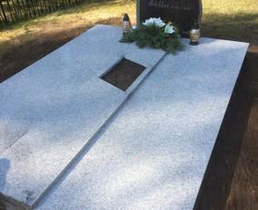 Raidžių kalimas ant paminklų