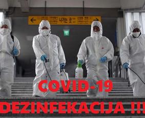 Covid-19 Korona Viruso Dezinfekacija ,Valymo Paslaugos