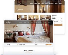 Internetinių svetainių ir el. parduotuvių kūrimas