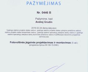Led apšvietimas. Prijungimas prie Eso. Elektros instaliacija / Andrej Grudin, UAB ELEKTARA / Darbų pavyzdys ID 134151