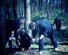 """Pramoga  """"Paklaidinimas miške"""" Trakų raj."""