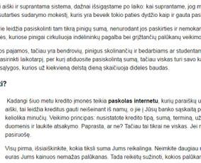 Tekstų rašytoja, komunikacijos specialistė / Agnė Kruopytė / Darbų pavyzdys ID 142957