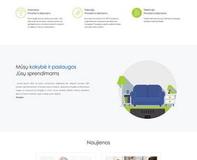 Internetinių svetainių kūrimas Vilniuje