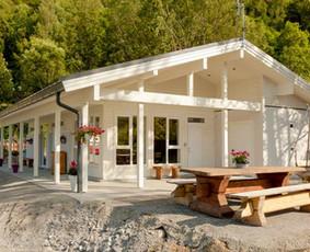 Poilsiavietės namas. Norvegija