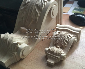 2D, 3D ir 4D frezavimas, 3D skenavimas / 3D Group EU, 3D Wood PRO / Darbų pavyzdys ID 174533