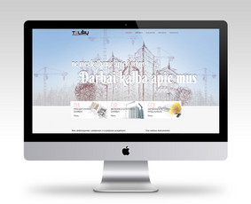 Telšių statyba, UAB (Telsiustatyba.lt) - Statybų kompanija. Daugiau mūsų darbų www.brandmedia.lt