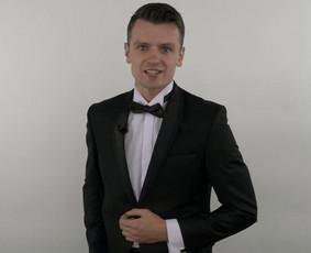 Renginių vedėjas Aivaras Vaiginis