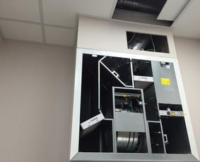 Rekuperacinės sistemos montavimas