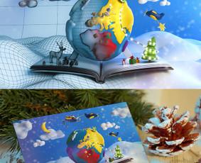 SmallPlanet atvirukas, 3D modeliavimas, vizualizacijos renderinimas