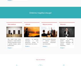 Interneto svetainių kūrimas Tauragėje