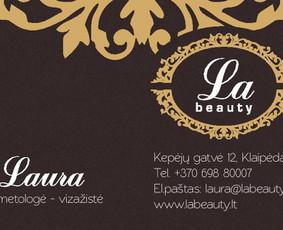 "Kosmetologė Klaipėdoje Laura Teresaitė - ""La Beauty"""