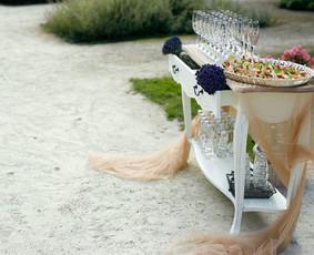 Vaišių staliukas po ceremonijos / Indrė / Darbų pavyzdys ID 222879