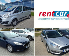 Automobiliu ir mikroautobusu nuoma / rentcar.lt / Darbų pavyzdys ID 226921