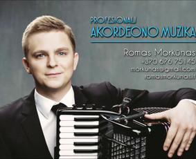 Profesionali akordeono muzika / Romas Morkūnas / Darbų pavyzdys ID 231359