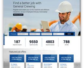 http://www.generalcrewing.com - darbo skelbimų talpinimo ir darbuotojų paieškos sistema.