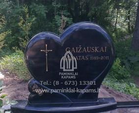 Paminklai kapams, kapų tvarkymas, granito gaminiai
