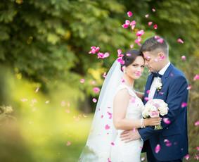 Vestuvių fotografija su meile.