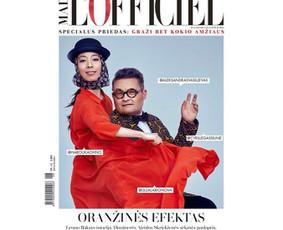 Lofficiel žurnalo viršelis.