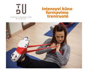 Intensyvi kūno formavimo ir svorio reguliavimo programa, naudojant modernias technologijas.  Aušto intensyvumo treniruotė. Atliekami pratimai tik su savo kūno svoriu, maksimaliai eikvojant kalo ...