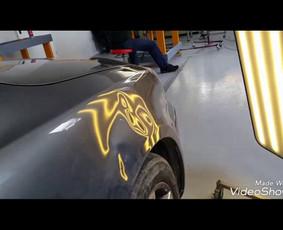 Automobilių kėbulo lyginimas be dažymo / PDR kursai, mokymai / Darbų pavyzdys ID 248367