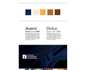 Logotipo atnaujinimas ir firminis stilius / Updated logo and corporate identity | Lietuvos nacionalinė filharmonija / Lithuanian National Philharmonic Society