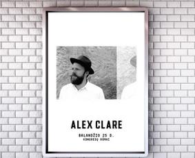 """""""Alex Clare"""" plakatas. Klientas: """"Fors Event"""""""