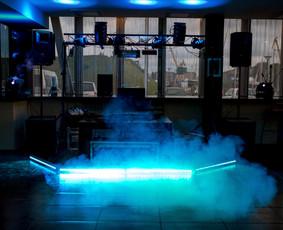 Dj garso aparatūros, kolonėlių ir šviesos efektų nuoma